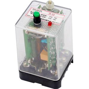 其结构和原理为拍合型电磁式信号继电器