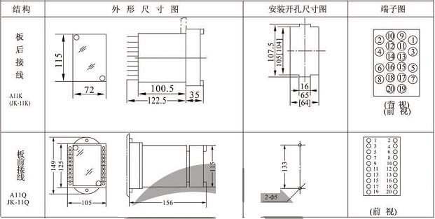 jy-22a静态电压继电器价格
