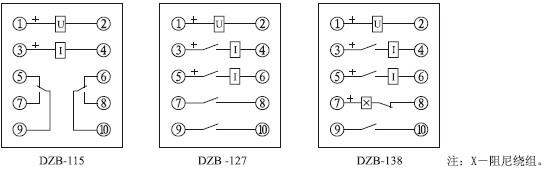 100系列中间继电器(以下简称继电器)作为辅助继电器