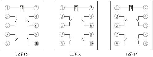 四,产品内部接线图
