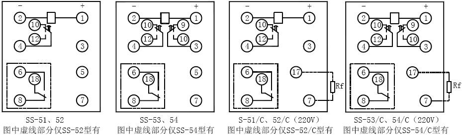 整定误差是指继电器施加额定电压时,在同一时间整定点上10次测量算术平均值与整定值之差。 b.延时一致性   在基准条件下,继电器延时触点延时一致性不大于0.2%最大整定值。   延时一致性是指继电器施加额定电压时,在同一时间整定点上10次测量最大与最小的动作时间之差。 4.温度变化对性能的影响   环境温度为标称范围极限值时,继电器应可靠动作,且应满足以下要求:   a.