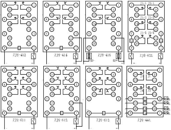 继电器-供应延时中间继电器zjs-417