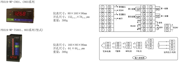 pd319-wp单回路数字显示控制仪价格