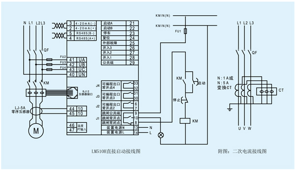 lm510h系列电动机保护器价格